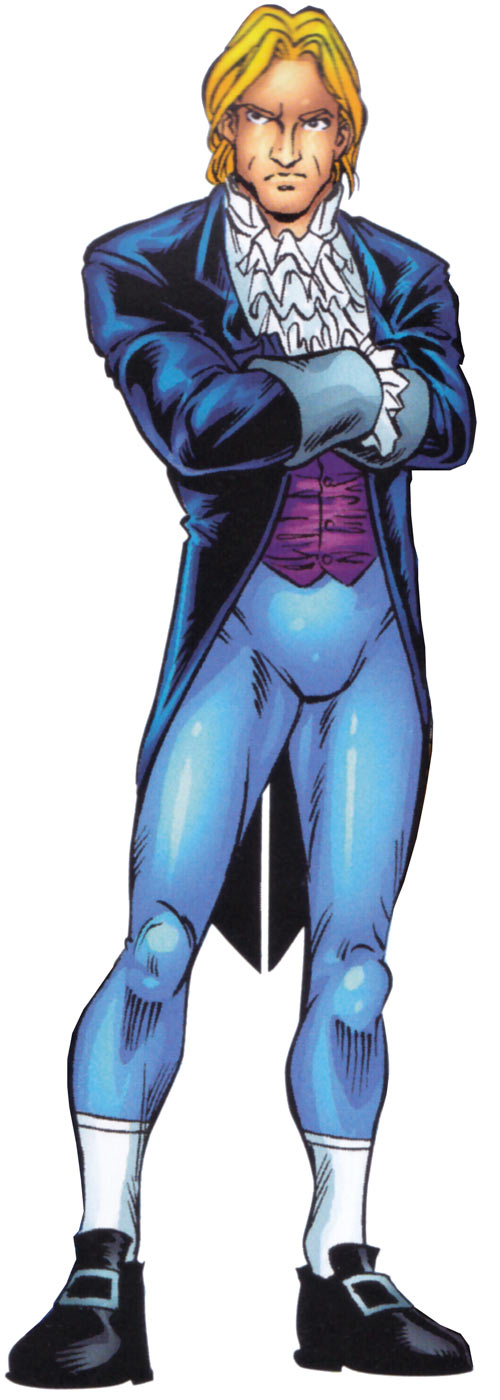 Donald Pierce (Marvel Comics) (White Bishop / King) Hellfire Club outfit