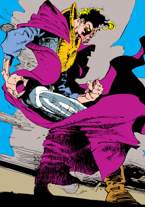 Donald Pierce (Marvel Comics) (White Bishop / King) violet cape
