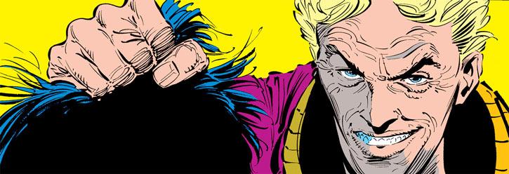 Donald Pierce (Marvel Comics) (White Bishop / King) grabbing hair