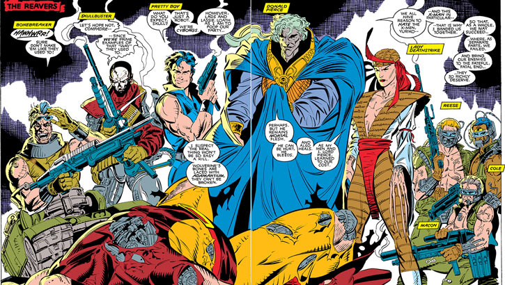 Donald Pierce (Marvel Comics) (White Bishop / King) and the Reavers