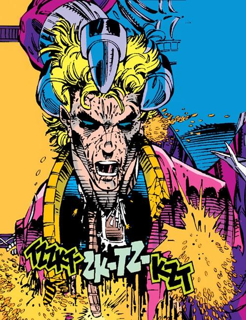 Donald Pierce (Marvel Comics) (White Bishop / King) beheaded