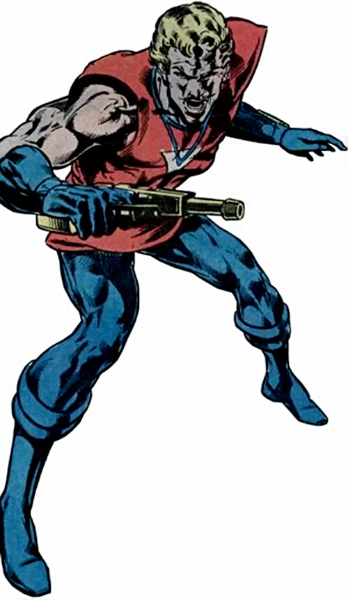 Donovan Flint of the Star Hunters (DC Comics)