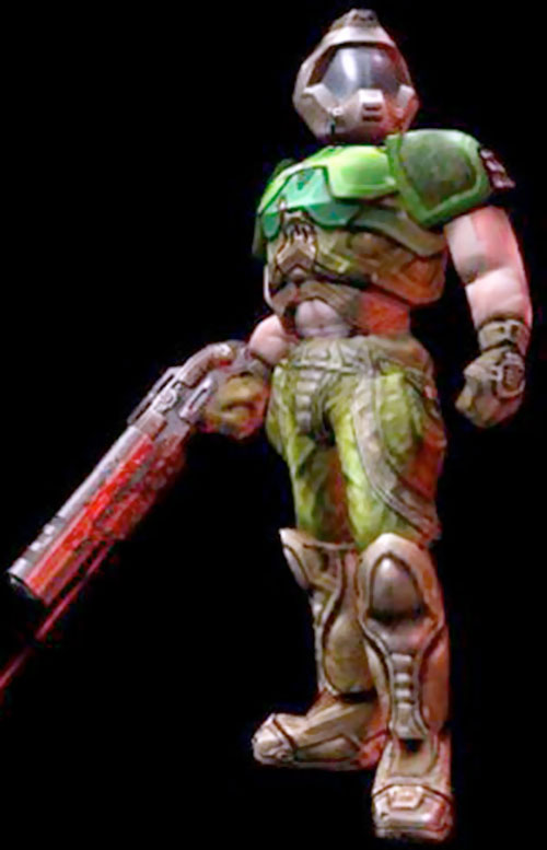 Doomguy in Unreal Tournament