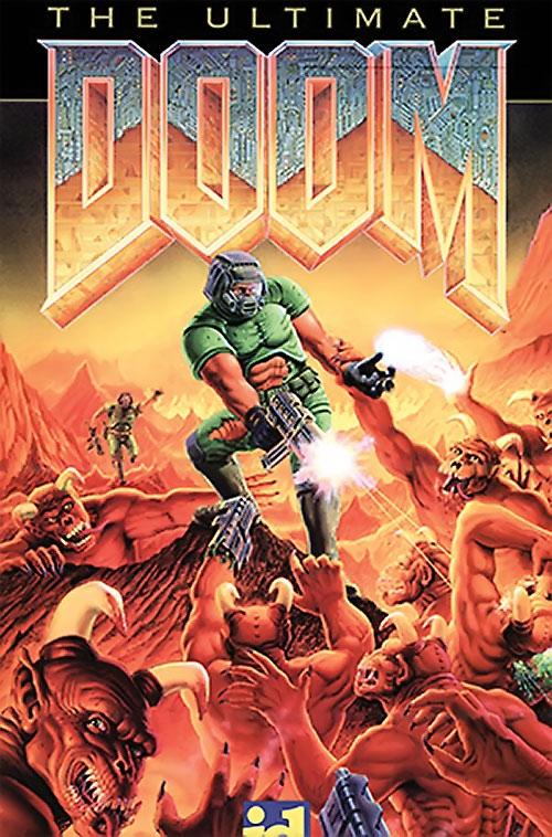 Ultimate Doom cover art