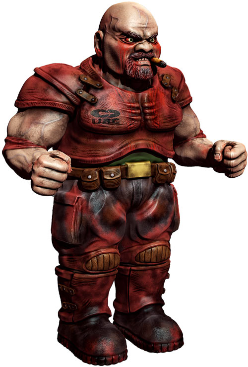 3D model for a zombie commando in the old Doom games, by DoomHD