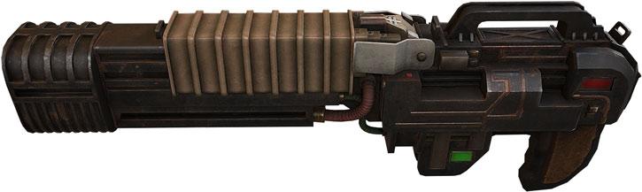 Doom Plasma Rifle by DoomHD
