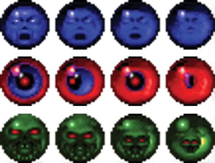 Doom video game artefact spheres