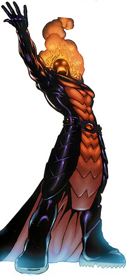Dormammu (Doctor Strange) (Marvel Comics) posing dramatically