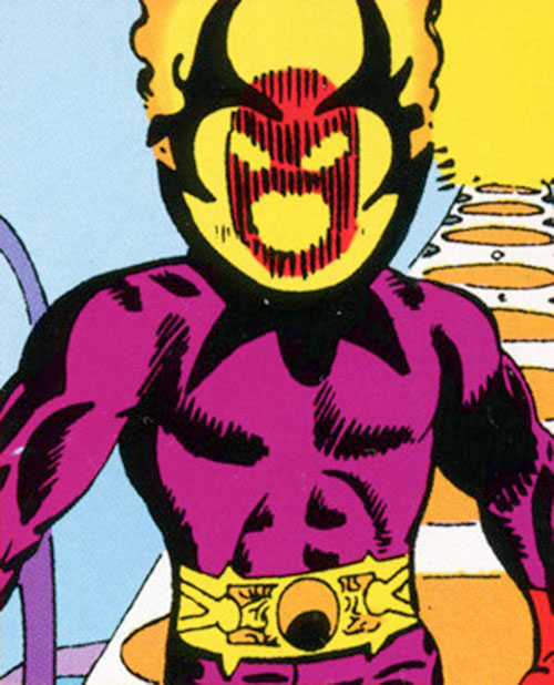 Dormammu (Doctor Strange) (Marvel Comics) by Ditko
