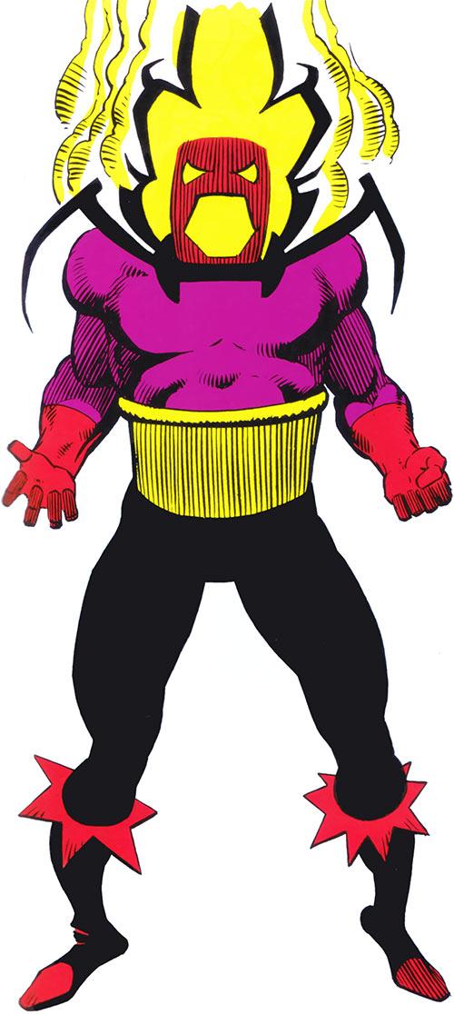 Dormammu in the 1983 Official Marvel Comics Handbook