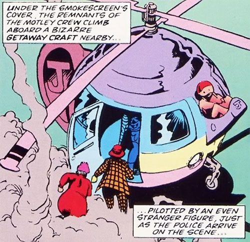 The Dormouse, the teapot helicopter and the Crazy Gang (Marvel Comics UK)