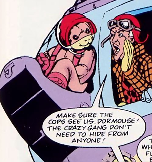 Dormouse of the Crazy Gang and Sir Jaspers (Marvel Comics UK)