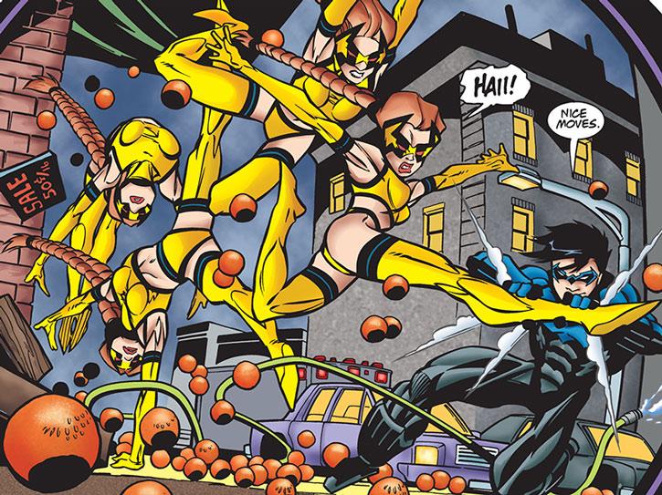 Double Dare vs. Nightwing