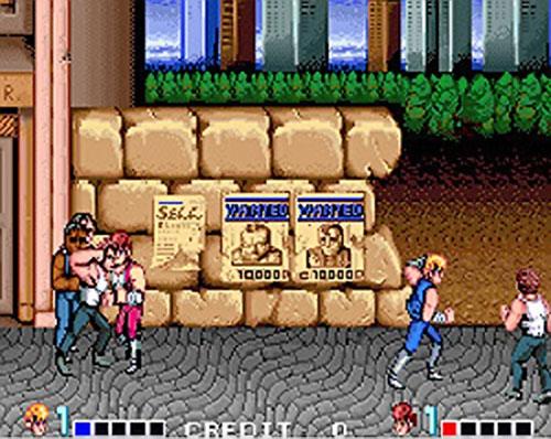 Double Dragon video game screen shot