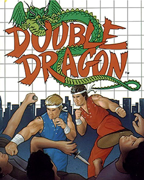Double Dragon video game, older cover art