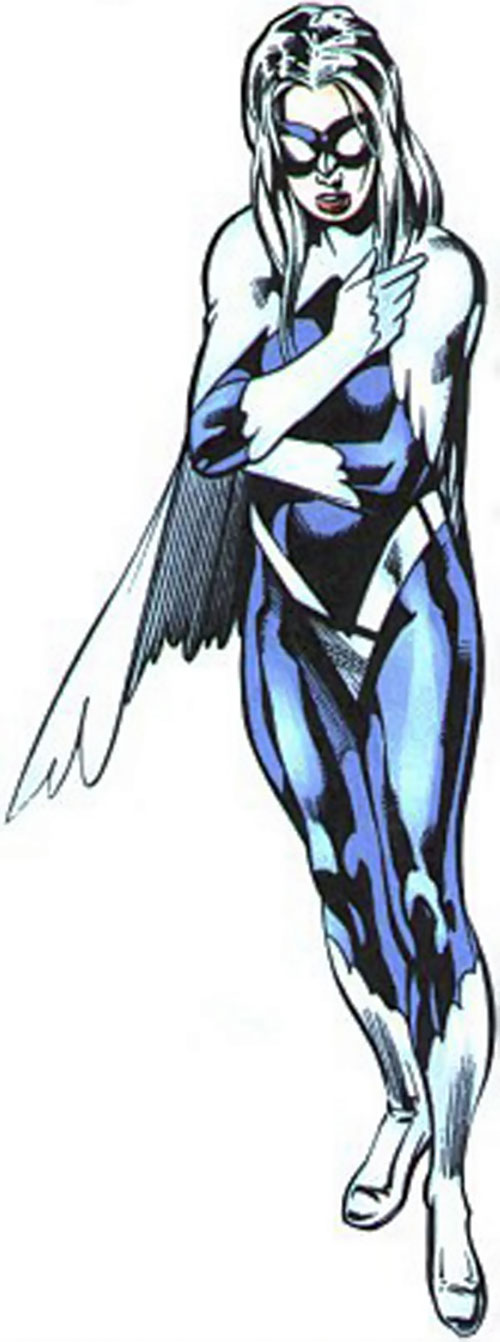 Dove (Dawn Granger) (DC Comics) talking