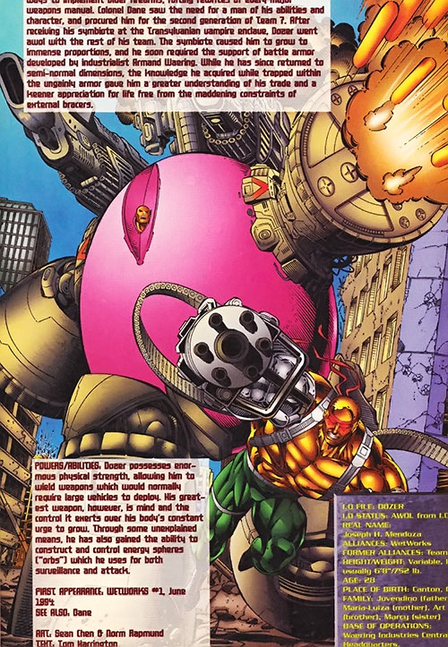 Big Dozer of Wetworks (Image comics)