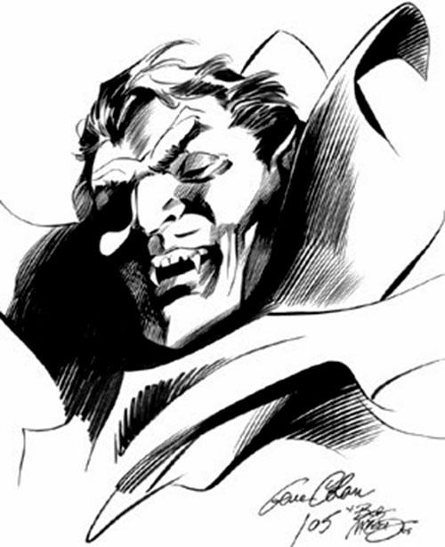 Dracula sketch by Gene Colan