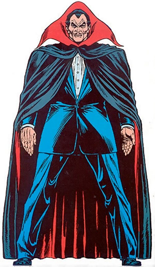 Dracula (Marvel Handbook Master Edition)