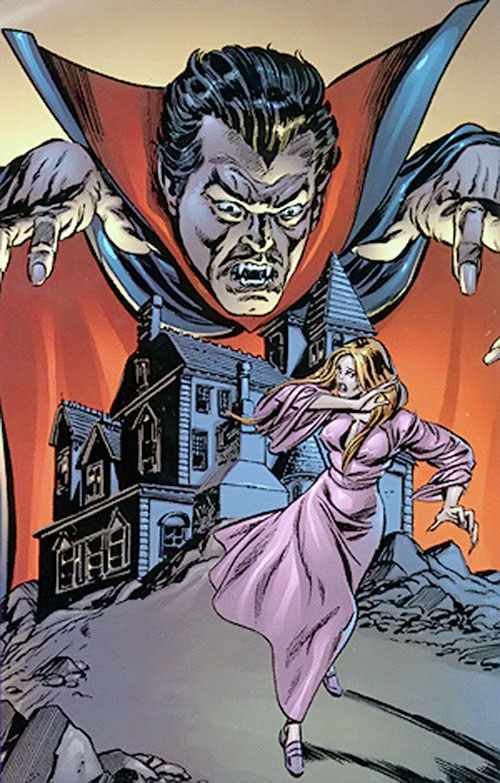 Dracula Marvel cover art