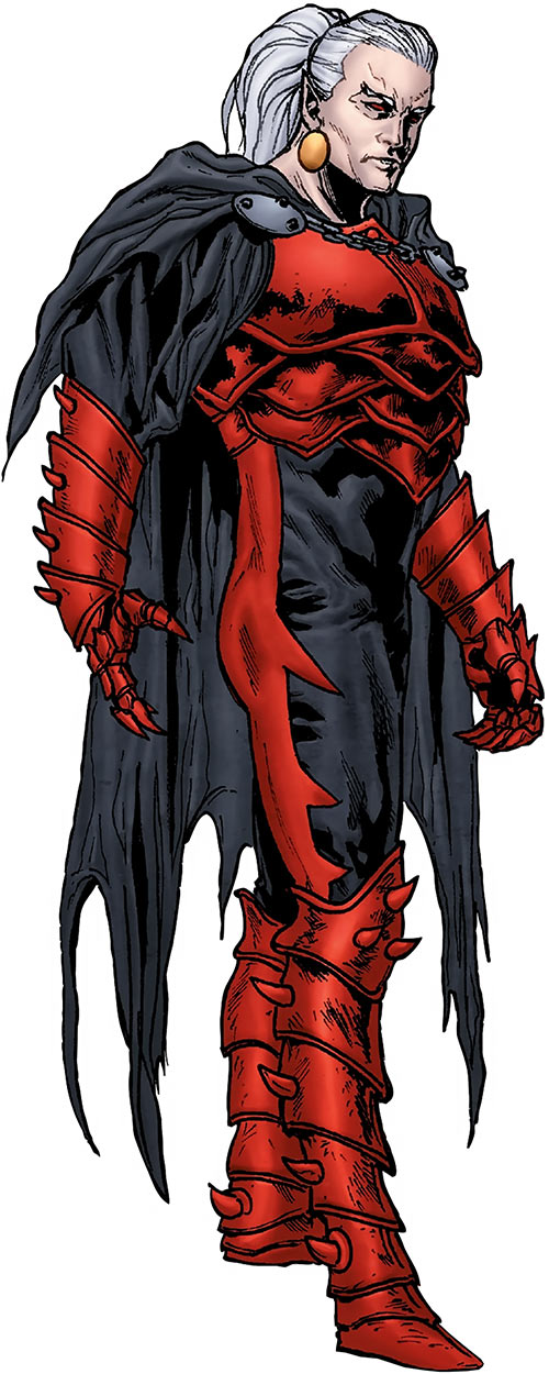 Dracula (Marvel comics) modern look with Gothic red armor