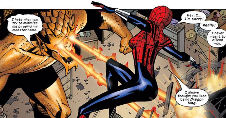 Dragon King vs. Spider-Girl