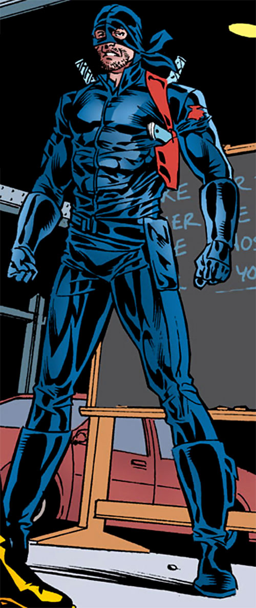 Dragoncat Parsons (DC Comics) (Robin villain)