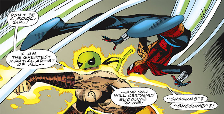 Dragonfist vs. Spider-Girl