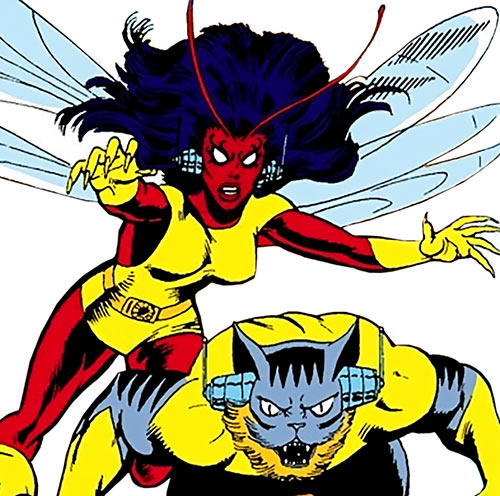 Dragonfly (Marvel Comics) (Ani-Men) (Dultry)