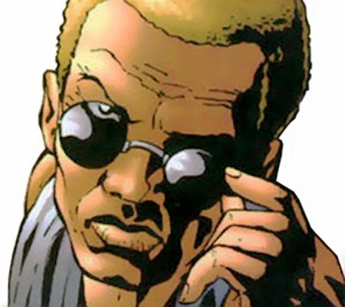 Drake (Elektra's sensei) (Marvel Comics)  staring