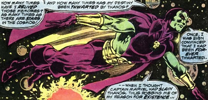 Classic Drax flies across the cosmos