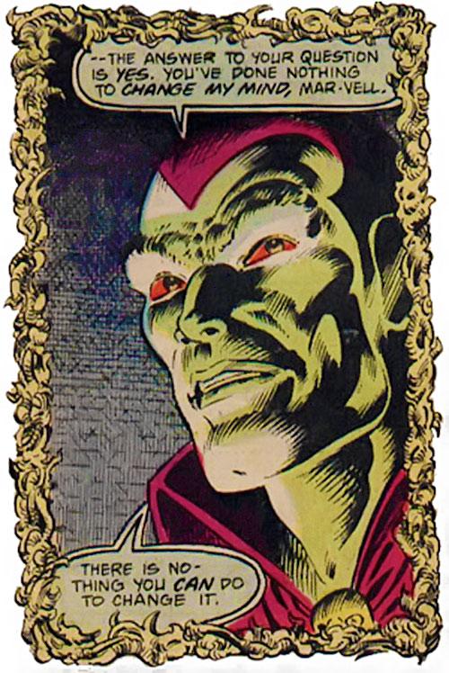 Drax the Destroyer (classic) (Captain Marvel Comics) portrait