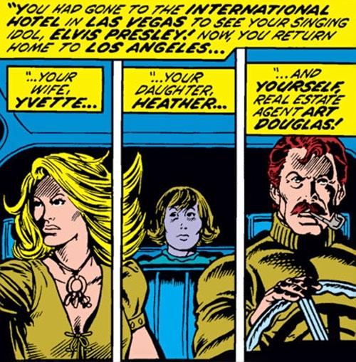 Drax the Destroyer (classic) (Captain Marvel Comics) as Arthur Douglas