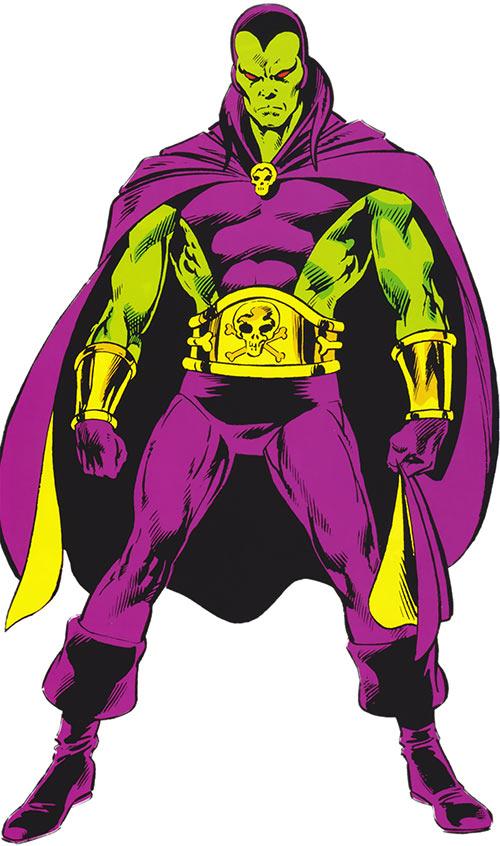 Drax the Destroyer - Marvel Comics - Captain Marvel - Profile #1 - Writeups.org