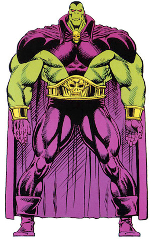 Drax the Destroyer of the Infinity Watch (Marvel Comics) master edition handbook