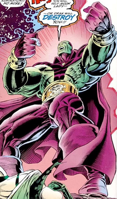 Drax The Destroyer Marvel Comics Infinity Watch