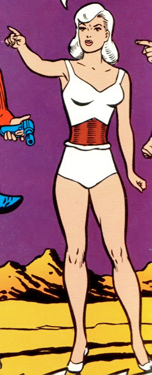 Dream Girl of the Legion of Super-Heroes (pre-reboot) (DC Comics) early appearance