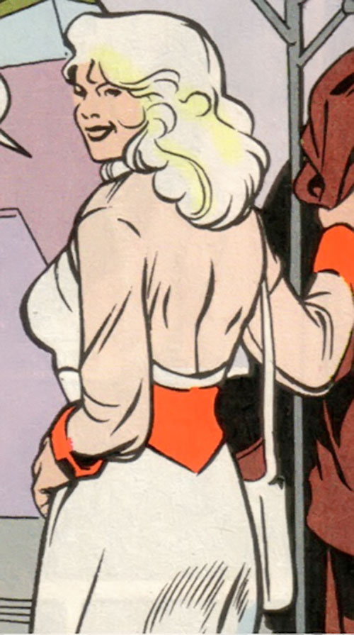 Dream Girl of the Legion of Super-Heroes (pre-reboot) (DC Comics) 5 years later