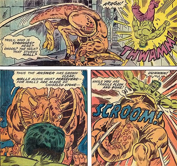 Droog vs. the Hulk