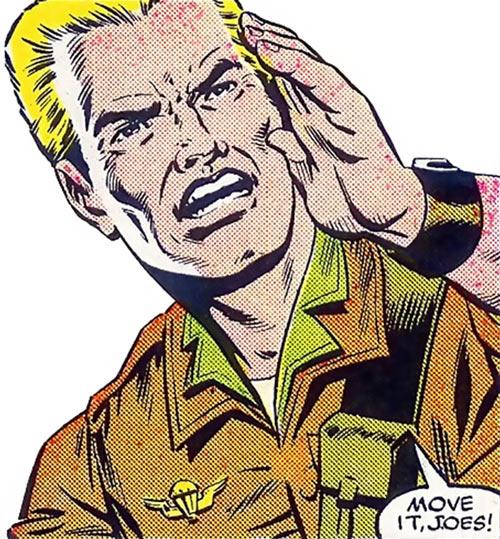 Duke (G.I. Joe) (Marvel Comics) yelling orders