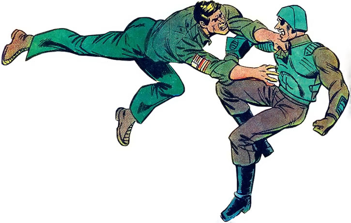 Duke (G.I. Joe) (Marvel Comics) vs. Major Bludd