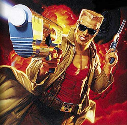 Duke Nukem from the box art