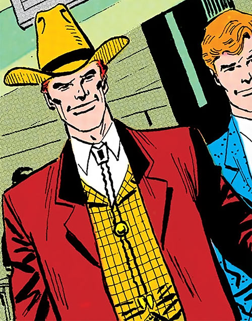 Duke of Oil (Outsiders enemy) (DC Comics) in his civvies