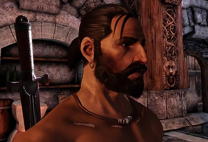 Duncan (Dragon Age Grey Warden) face nexus mods adiosamigos