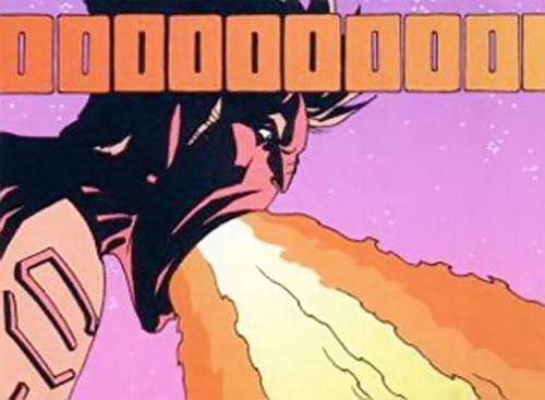 Firebreather (Image Comics) - Duncan Rosenblatt belching fire