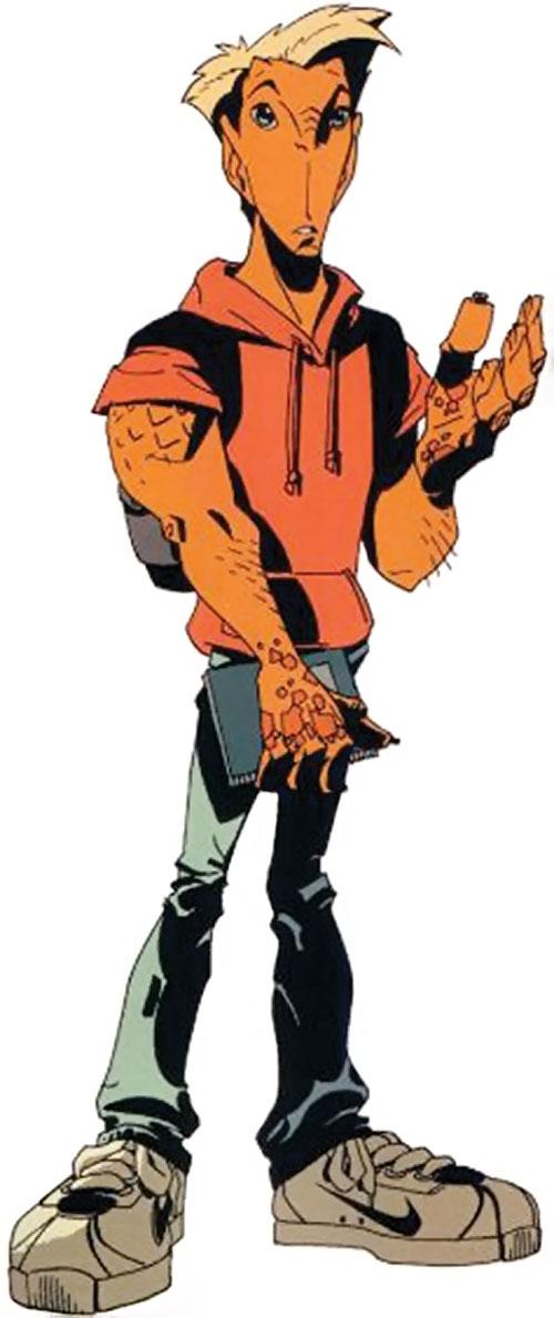 Firebreather (Image Comics) - Duncan Rosenblatt in human clothing