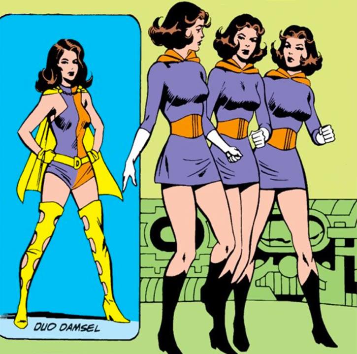Duo Damsel / Triplicate Girl (DC Comics / Legion of Super-Heroes) costumes