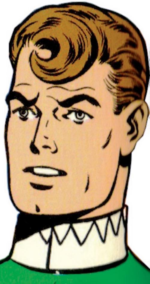 Duplicate Boy (Legion of Super-Heroes character) (DC Comics) face closeup