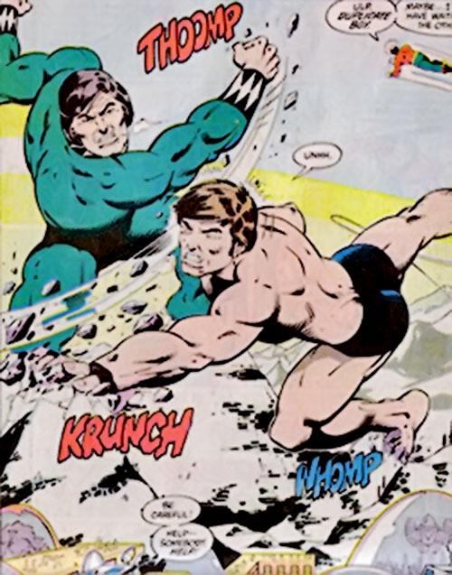 Duplicate Boy (Legion of Super-Heroes character) (DC Comics) vs. Colossal Boy