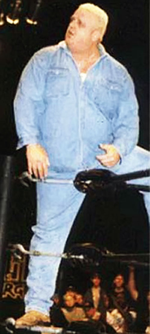 Dusty Rhodes the American Dream (denim jumpsuit)